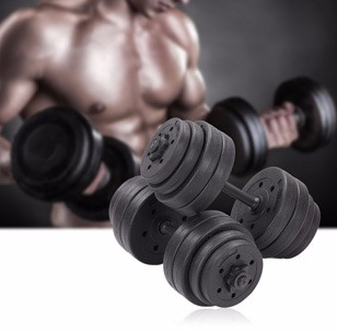 64LB Adjustable Dumbbells Set
