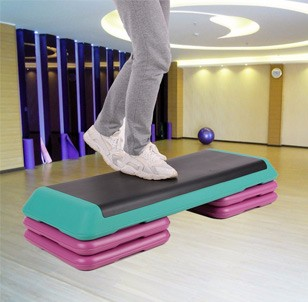 TOMSHOO Adjustable Aerobic Platform Stepper